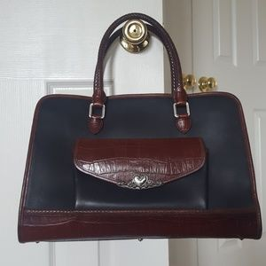 GUC Vintage Brighton for Business Leather Satchel